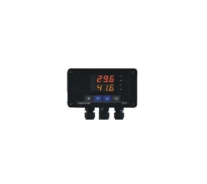 Dewpoint controller: energy efficient heating of warehouses or storages
